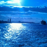 Photo taken at Sea of Marmara by Haktan I. on 12/21/2011