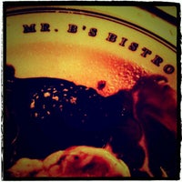 Photo taken at Mr. B's Bistro by Andy B. on 10/26/2011