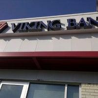 Photo taken at Viking Bank by Wendy H. on 10/17/2011