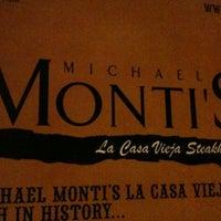 Photo taken at Monti's La Casa Vieja by Michael W. on 10/23/2011