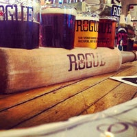 Photo taken at Rogue Ales Bayfront Public House by Will S. on 7/9/2012