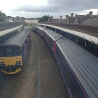 Photo taken at Weston-super-Mare Railway Station (WSM) by B P. on 8/3/2012