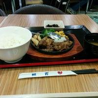 Photo taken at 松屋 by Yoshiki F. on 3/8/2014