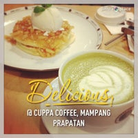 Photo taken at Cuppa Coffee by Intan G. on 12/26/2012