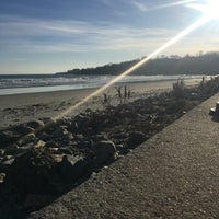 Photo taken at First Beach by Rachel M. on 1/20/2018