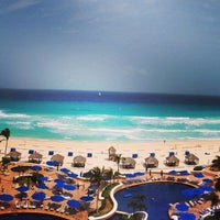 Photo taken at The Ritz-Carlton, Cancun by Colin M. on 4/12/2013