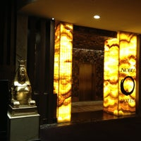 Photo taken at Nobu Hotel by Mickey T. on 5/9/2013