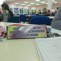 Photo taken at Library PSP by Siti nur S. on 10/6/2016
