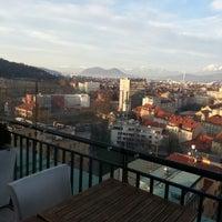 Photo taken at Nebotičnik by naja_xaoticca on 1/1/2013