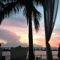 Photo taken at Mondrian South Beach by Jessika G. on 6/16/2013