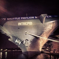 Photo taken at Intrepid Sea, Air & Space Museum by Hassenpheffr .. on 7/22/2013