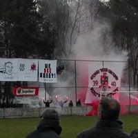 Photo taken at Voetbal K Hechtel FC by Bram F. on 3/6/2016