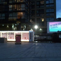 Photo taken at The Floating Cinema by Leni C. on 8/16/2014