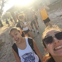 Photo taken at USF Track and Field Complex by Danielle M. on 3/16/2016