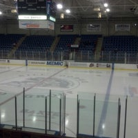 Photo taken at Androscoggin Bank Colisée by Gary J. on 11/11/2012