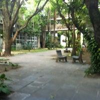 Photo taken at CAC - Centro de Artes e Comunicação by Rachel T. on 4/4/2013