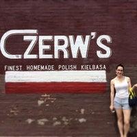 Photo taken at Czerw's Kielbasa by Chris W. on 5/10/2014