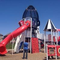 Photo taken at Rocketship Park by Steve J. on 5/11/2014