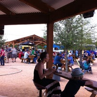 Photo taken at Clearfork Food Park by Mike B. on 4/28/2013