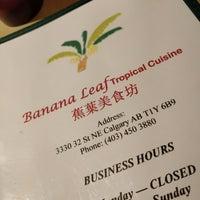 Photo taken at Banana Leaf Tropical Cuisine by Albert B. on 1/9/2018