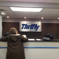 Photo taken at Thrifty Car Rental by Aaron W. on 11/6/2012