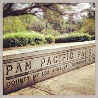 Photo taken at Pan Pacific Park by Sasha N. on 7/14/2013