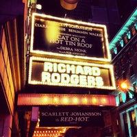 1/23/2013にJongがRichard Rodgers Theatreで撮った写真