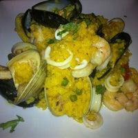 Photo taken at Pop City Diner by Valerie L. on 3/21/2013