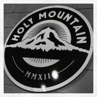 Photo taken at Holy Mountain by davidROWDIE on 10/13/2012