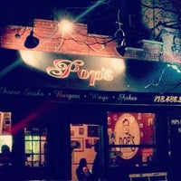 Photo taken at Pop's Burger by Adam S. on 4/18/2013
