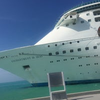 Photo taken at Royal Caribbean Enchantment Of The Seas by Ale R. on 1/3/2017