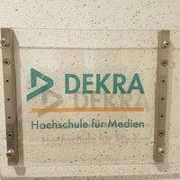 Das Foto wurde bei DEKRA Hochschule Berlin von Stefan .. am 6/10/2016 aufgenommen