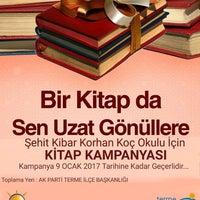 Photo taken at Ak Parti Terme İlçe Başkanlığı by Yunus Ö. on 12/29/2016