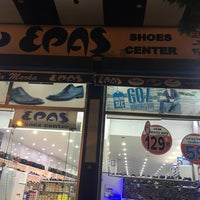 Photo taken at Epaş Shoes Center by Muhammed K. on 6/11/2017