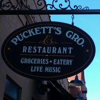 Photo taken at Puckett's Grocery & Restaurant by Jeff R. on 11/2/2012