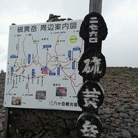 Photo taken at 硫黄岳山頂 by Taeko on 8/12/2016