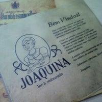 Foto tirada no(a) Joaquina Bar & Restaurante por Luiz N. em 1/5/2013
