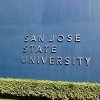 Photo taken at San Jose State University - Swenson Gate by LI X. on 10/14/2012