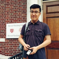 Photo taken at Harvard-Yenching Library by Hughes Y. on 9/10/2016