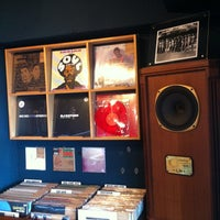 Photo taken at Root Down Records by YZA on 12/8/2012