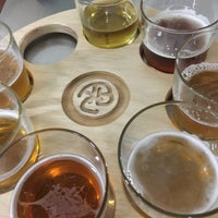 Photo taken at Asher Brewing Company by Amanda P. on 6/21/2017