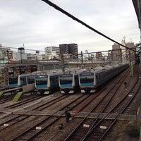 Photo taken at Higashi-Jujo Station by temaeno.hosomichi k. on 12/2/2012