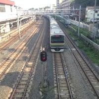 Photo taken at Higashi-Jujo Station by temaeno.hosomichi k. on 5/5/2013