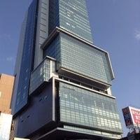 Photo taken at Shibuya Hikarie by temaeno.hosomichi k. on 1/22/2013