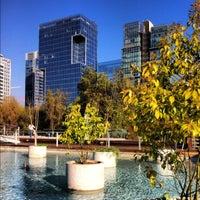 10/15/2012 tarihinde Evyziyaretçi tarafından Parque Araucano'de çekilen fotoğraf