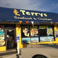 Photo taken at Terry's Seafood & Chicken by Brian on 3/1/2013