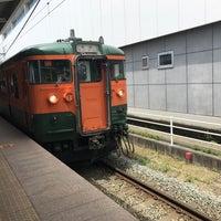 Photo taken at しなの鉄道 上田駅 by JJ on 6/3/2017