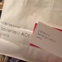 2/24/2014 tarihinde j C.ziyaretçi tarafından pâtisserie Sadaharu AOKI paris'de çekilen fotoğraf