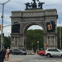 Photo taken at Endale Arch - Prospect Park by Dana G. on 5/22/2016