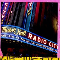 Foto tirada no(a) Radio City Music Hall por Daniel C. em 6/9/2013